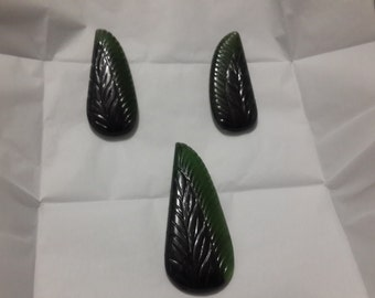 New Arrival Serpentine carving fine quality rare pendant and earrings only 12.50 USD