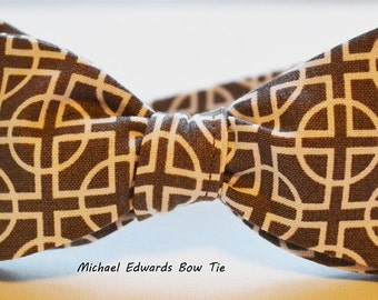 Mens Gray Bowtie, Self-Tie Bow Tie, Geometric Bowtie, Bow Tie for Men, Mens Grey Bow Tie, Mens Gray Bowtie, Prom Tie, Bow Ties for Men,