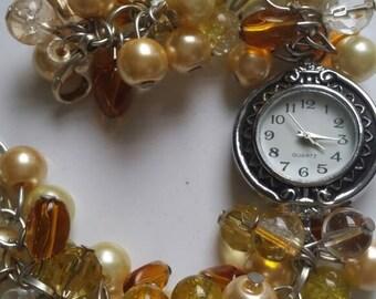 Handmade beaded watches (2)