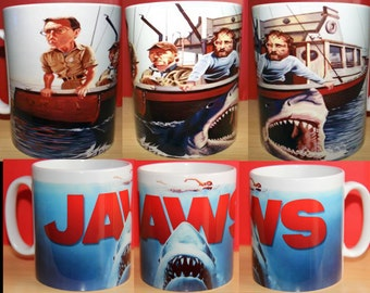 Jaws Great White Shark Movie Mug