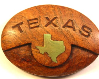 Texas Mesquite Buckle