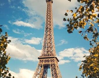 France, Paris, Eiffel Tower, Paris photography, Eiffel Tower photography, wall art print, professional photo, fine art #074f