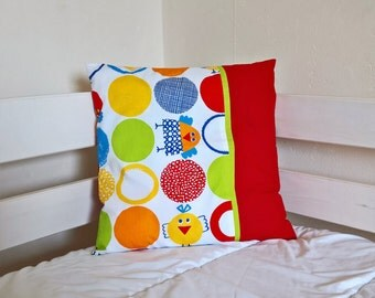 cushion cover 40 * 40, bird motifs