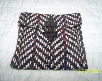 Tweed Wallet