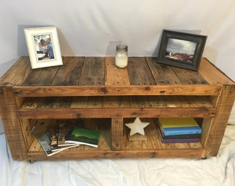 Rustic Entertainment Center