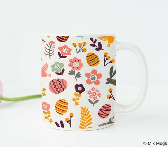 Easter gift easter mug easter cup easter basket gifts easter like this item negle Image collections