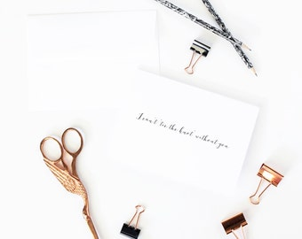 I cant say I do without you card | Card to ask bridesmaids | Card to give to your bridesmaids | Bridesmaid proposal F10