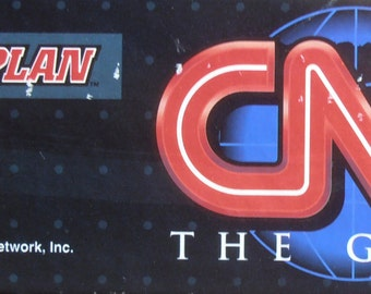 CNN The Game - 1994 Vintage Board Game by Game Plan - COMPLETE