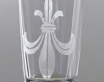 Depeche Mode It's No Good Ultra logo etched shot glass