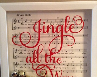 Jingle Bells Shadowbox