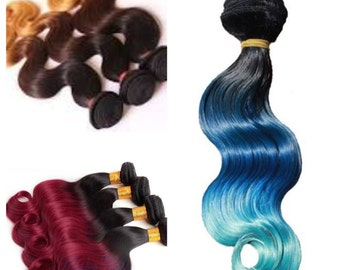 """100% human remy hair extensions, wefts, half a bundle, 22"""" 200 grams"""