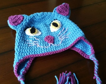 Crochet Hat Cat