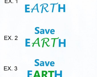 Save Earth Decal Earth Car Decal Sticker