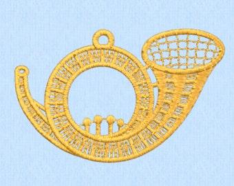 Horn ornament