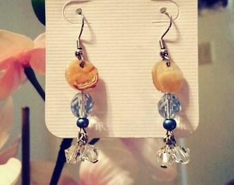 Swarovski elements handmade earrings