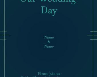 Wedding Invitation by SavagStudios