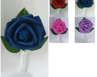 Blue Boutonnieres Purple Boutonnieres Red Boutonnieres Hot Pink Boutonnieres Red Wedding Boutonnieres Blue Wedding Boutonnieres Boutonniere