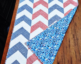 Modern Quilt, Custom  (Free Shipping)