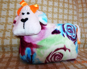 """Handmade Soft Toy The pillow and toy """"Funny cow"""""""