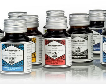 Rohrer & Klingner Writing Ink (50ml): Various Colours