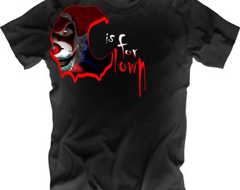Clown Scary and Creepy T-Shirt
