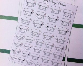 Silhouette Portrait Machine/Cutter Icon Planner Stickers