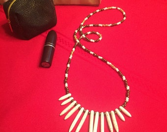 Bohemian Chic Spike Necklace