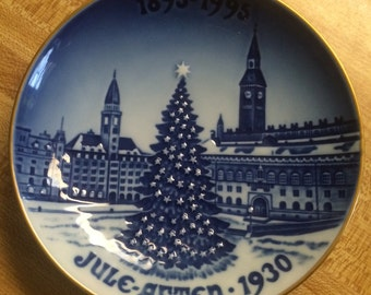 "Bing & Grondahl-Xmas Plates The Centennial Collection '92 ""Copenhagen Christmas"""
