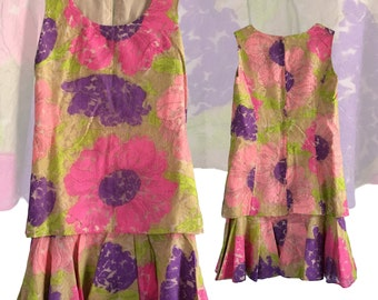 60s Tiered Party Dress