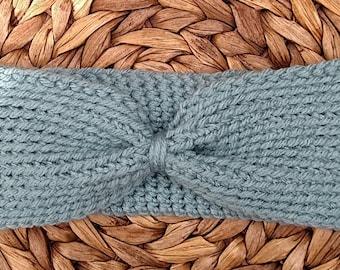 Headwrap in Pale Blue