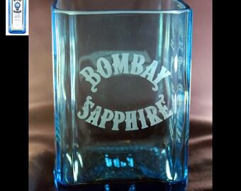 Bombay Sapphire Gin Premium Rocks Glass
