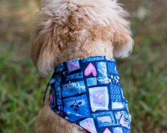Love hope dog bandana