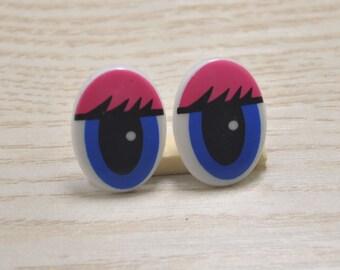 Free Shipping! 10pairs Safety Eyes,Toy eyes,Oval Doll Eyes 21x15mm,Animal Eyes,Plastic Eyes,Comic Craft Eyes for stuffed Animals, Toys