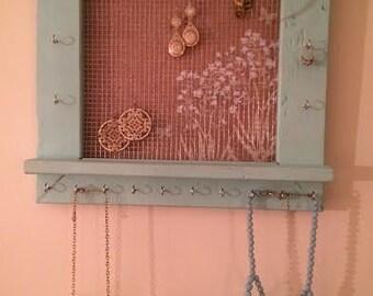 Custom Hanging Jewelry Frame