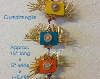 Quadrangle Bird Toy