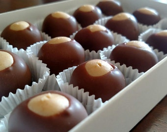 Milk Chocolate Buckeyes (15)