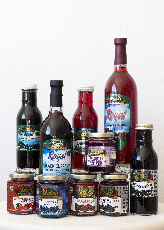 All Natural, Organic, Gourmet, Raspberry Jam - Utah's Own, Preserves, Jelly, Marmalade
