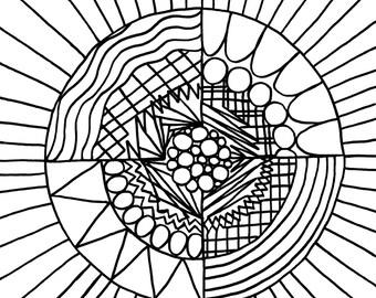 Coloring Circles