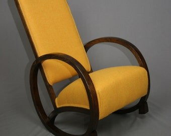 SOLD - Art Deco Rocking Chair