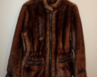 Balmain jacket synthetic fur