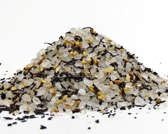 Black Tea Bath Salts! Dead Sea Bath Salt With Black Tea & Ginger.