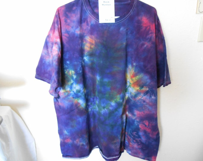 "100% cotton Tie Dye Tshirt ""Midnight Sky"" MM3X11 size 3X"