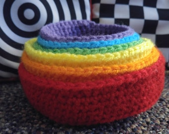 Crochet Nesting Bowls & Balls