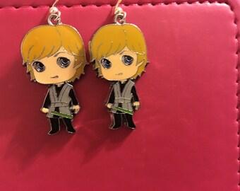 Luke Skywalker Star Wars Earrings  B39