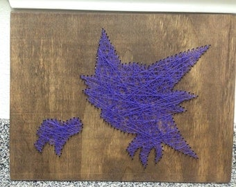 Haunter nail/ string art