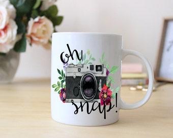 Oh, Snap! // Photographer's Mug