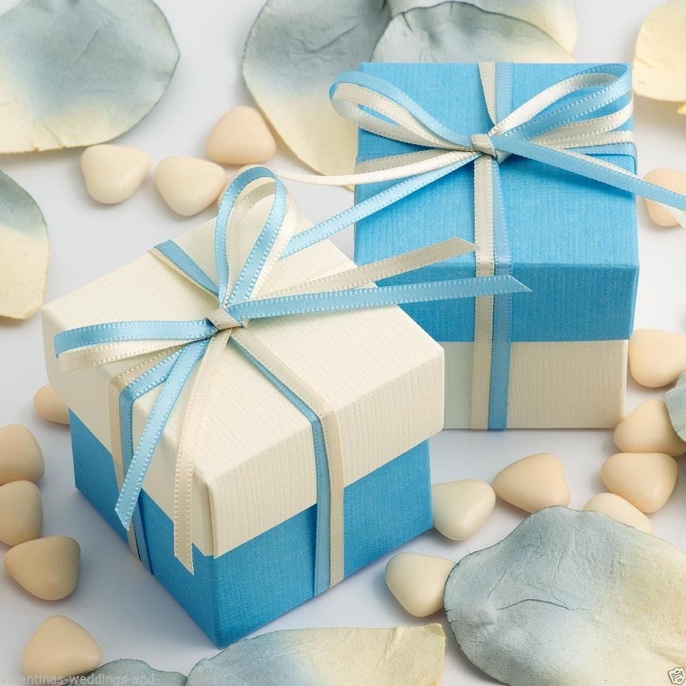 Wedding Favors Luxury DIY Two Tone Box & Lids Thank You Baby Shower ...