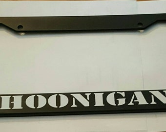 Custom Ig Instagram License Plate Frame By Downshiftdecals