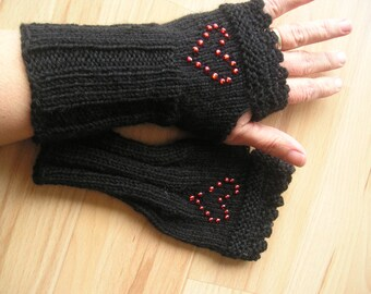 Arm cuffs with Pearl Heart, mother