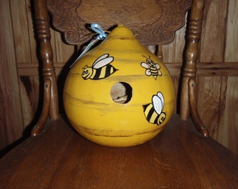 Bee hive bird house